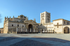 Cathedral of Zamora Stock Photography