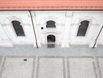 Cathedral in the Zamosc. Stock Images