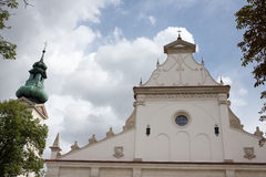 Cathedral in the Zamosc. Stock Photography