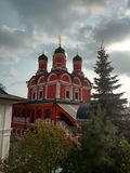 Cathedral of the Znamensky Monastery. Royalty Free Stock Images