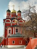 Cathedral of the Znamensky Monastery. Stock Images