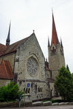 Cathedral in Zug Stock Image