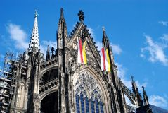cathedral02 cologne Obraz Royalty Free