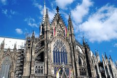 cathedral04 cologne fotografia royalty free