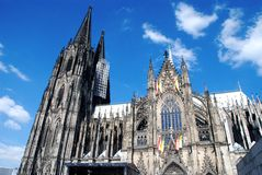 cathedral05 cologne Obraz Royalty Free