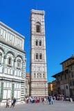 Cathedrale二圣玛丽亚del菲奥雷在佛罗伦萨,意大利 免版税库存照片