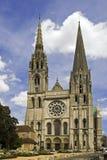 cathedrale沙特尔 库存图片