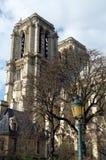 cathedrale κυρία de Γαλλία notre Παρίσι Στοκ Εικόνες