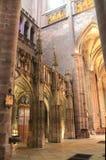 Cathedrale Нотр-Дам, Rodez (Франция) Стоковое Изображение RF