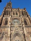 Cathedrale страсбурга Стоковое Изображение