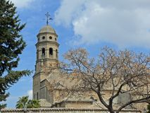Cathedrale of Baeza Stock Images