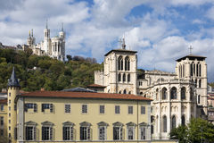Cathedrale and basilica Royalty Free Stock Images
