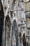 cathedrale de法国贵妇人notre巴黎 免版税库存图片