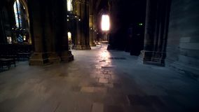 Cathedrale De cathédrale de Metz, St Stephen banque de vidéos