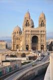cathedrale de France losu angeles major Marseille Zdjęcia Stock