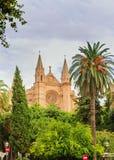 Cathedrale de Mallorca Imagen de archivo libre de regalías