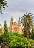 Cathedrale de mallorca Royalty Free Stock Image