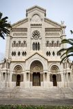 Cathedrale de Monaco, Monte Carlo Stock Photo