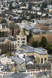 Cathedrale de Sion photo stock