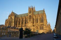 Cathedrale di Metz Mosella Francia fotografia stock