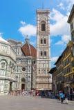 Cathedrale Di Santa Maria del Fiore w Florencja, Włochy Obrazy Royalty Free