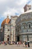 Cathedrale Di Santa Maria del Fiore w Florencja, Włochy Obrazy Stock