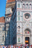 Cathedrale Di Santa Maria del Fiore w Florencja, Włochy Fotografia Royalty Free