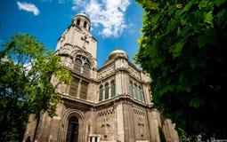 Cathedrale i Varna Fotografering för Bildbyråer