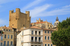 Cathedrale of Narbonne, France. Stock Photo