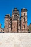 Cathedrale Notre Dame在罗德兹,法国 免版税库存照片