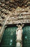 Cathedrale Notre Dame de史特拉斯堡在阿尔萨斯,法国 免版税图库摄影