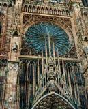 Cathedrale Notre Dame de史特拉斯堡法国 免版税库存照片