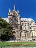 Cathedrale Notre Dame de Paris cite - catholic dome royalty free stock photos