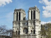 Cathedrale Notre-Dame de Paris after Fire royalty free stock photography