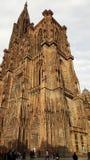 Cathedrale Notre Dame de Strasbourg Imagen de archivo