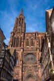 Cathedrale Notre Dame de Strasbourg France Photographie stock
