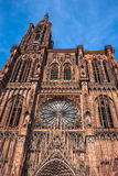 Cathedrale Notre Dame de Strasbourg France Photos stock