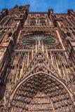 Cathedrale Notre Dame de Strasbourg France Photographie stock libre de droits