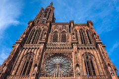 Cathedrale Notre Dame de Strasbourg France Image stock