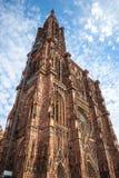 Cathedrale Notre Dame de Strasbourg France Photos libres de droits