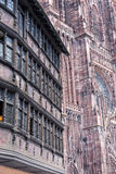 Cathedrale Notre-Dame De Strasbourg, France photos stock