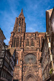 Cathedrale Notre Dame de Strasbourg France Stock Photography