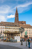 Cathedrale Notre Dame de Strasbourg France Royalty Free Stock Photo