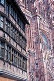 Cathedrale Notre-Dame de Strasbourg, France Stock Image