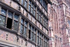 Cathedrale Notre-Dame de Strasbourg, France Royalty Free Stock Photo