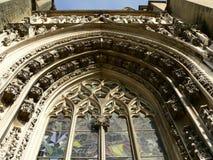 Cathedrale Notre Dame, Lausanne (Suisse) Royaltyfri Bild