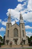 Cathedrale Notre Dame Ottawa Stock Images