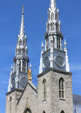 Cathedrale Notre Dame in Ottawa Royalty Free Stock Photo