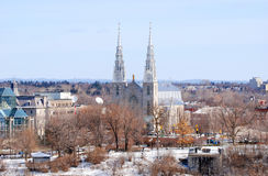 Cathedrale Notre Dame Ottawa Royalty Free Stock Image