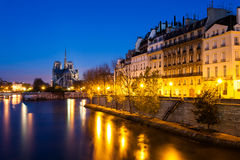 Cathedrale Notre-Dame, Paris, France Royalty Free Stock Photos